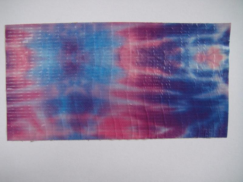 Blue & Pink tie-dye