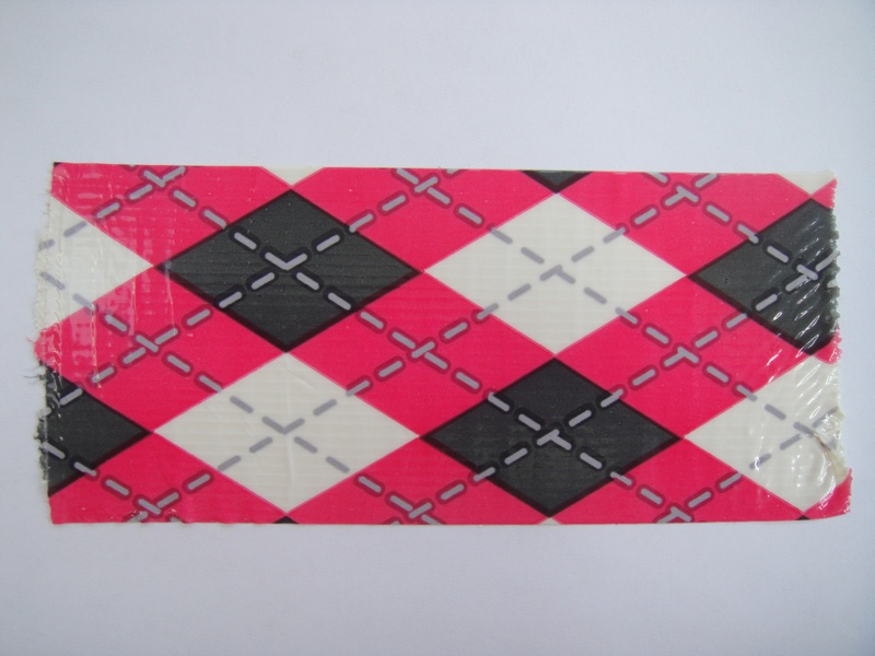Pink & Black plaid